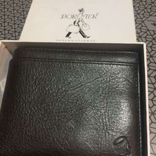 Brand New Porter Brown Wallet