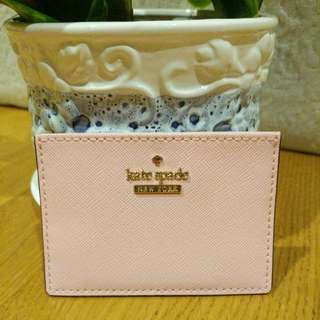 [100% Authentic & Imporated From USA] Kate Spade Cameron Street Card Holder In Sunset Pink