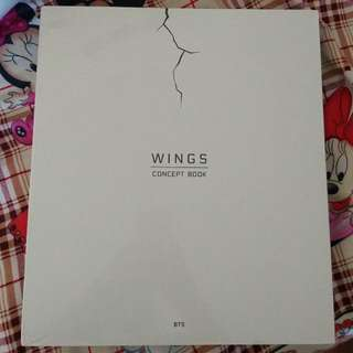 [SEALED] BTS WINGS CONCEPT BOOK