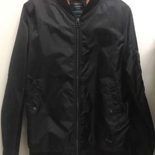 Bomber jacket (black) -price reduced!