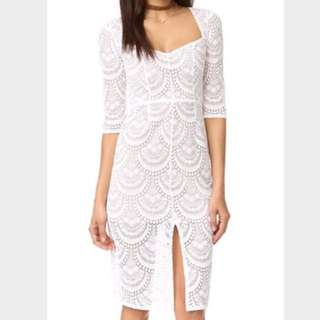 BNWT For Love And Lemons White Lace Dress