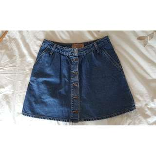 Jean skirt from Zara