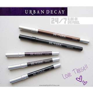 (Price Nego) Urban Decay 24/7 Glide-on Eye Pencil: Demolition