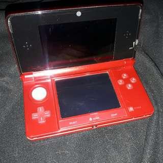 Nintendo 3Ds Red/Maroon