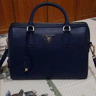 Prada Navy Bag