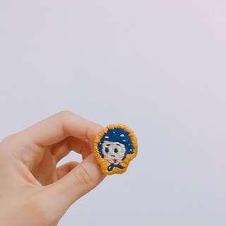 handmade badge / pin