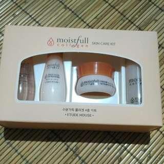 NEW : Etude House Moistfull Collagen Skin Care Kit