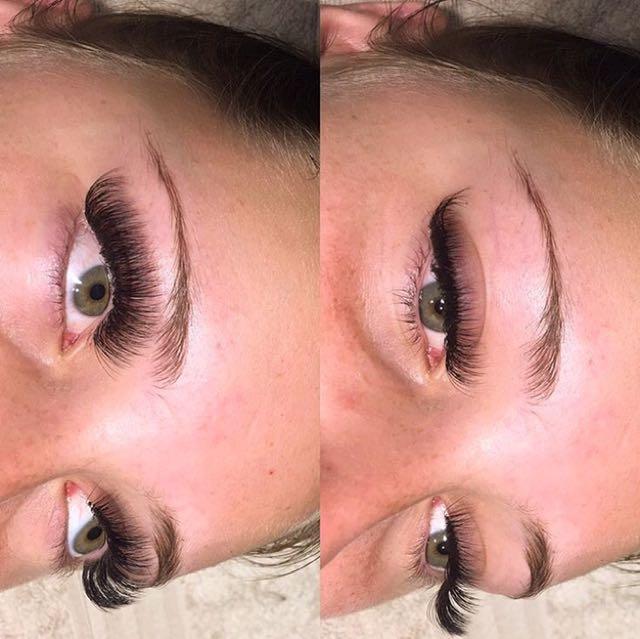 3D Russian Eyelash Extensions