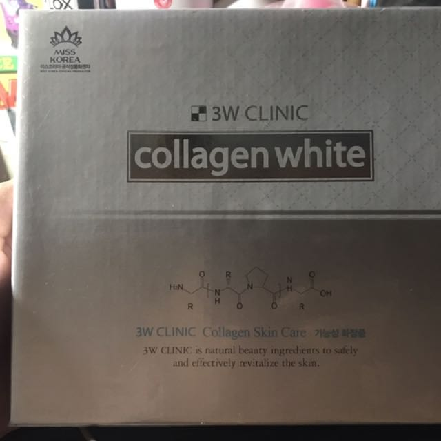 3W Clinic Collagen White