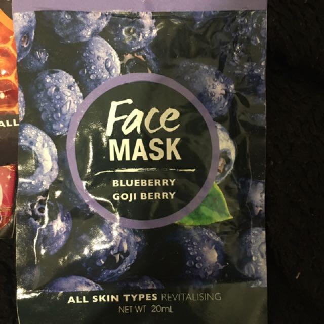 4 X Face Masks