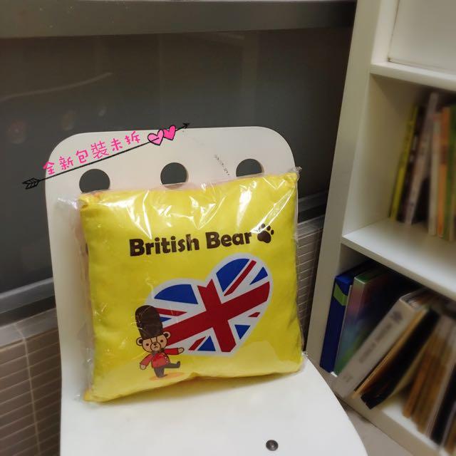 英國熊抱枕
