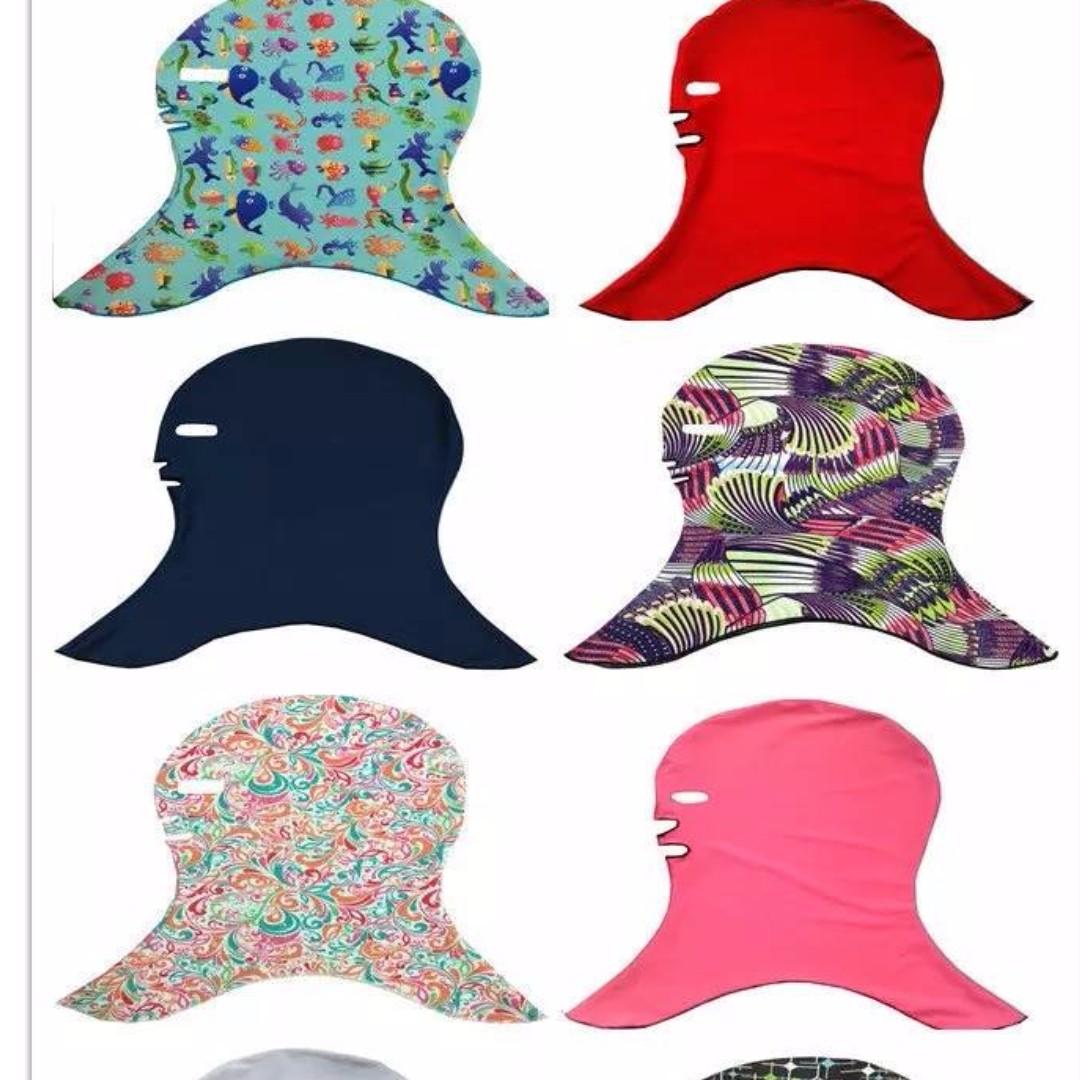 臉基尼泳帽