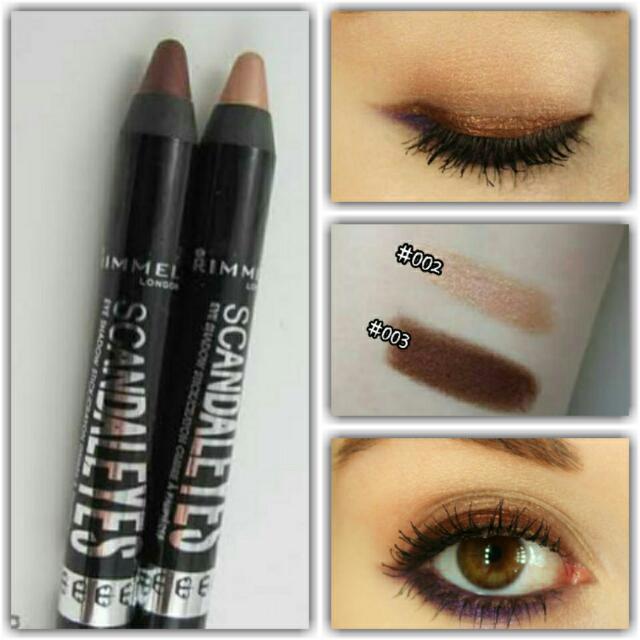 🇺🇸Authentic Rimmel London ScandalEyes Eyeshadow Stick