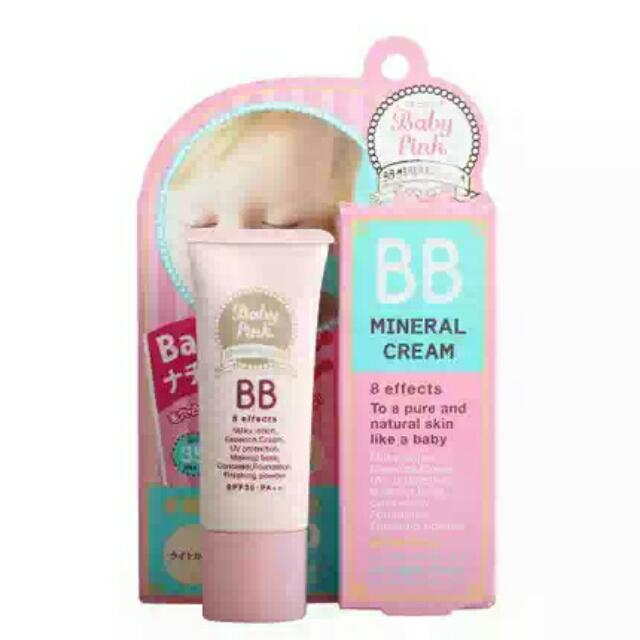 Baby Pink BB Mineral Cream
