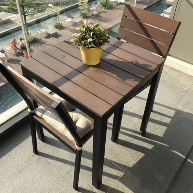 Balcony Furniture Ikea Furniture Tables Chairs On Carousell