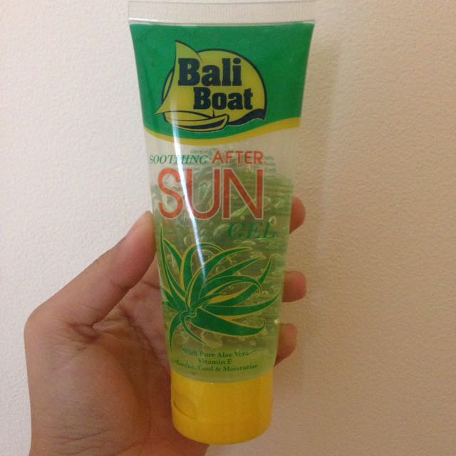 Bali Boat Sun Screen (Sooting After Sun)