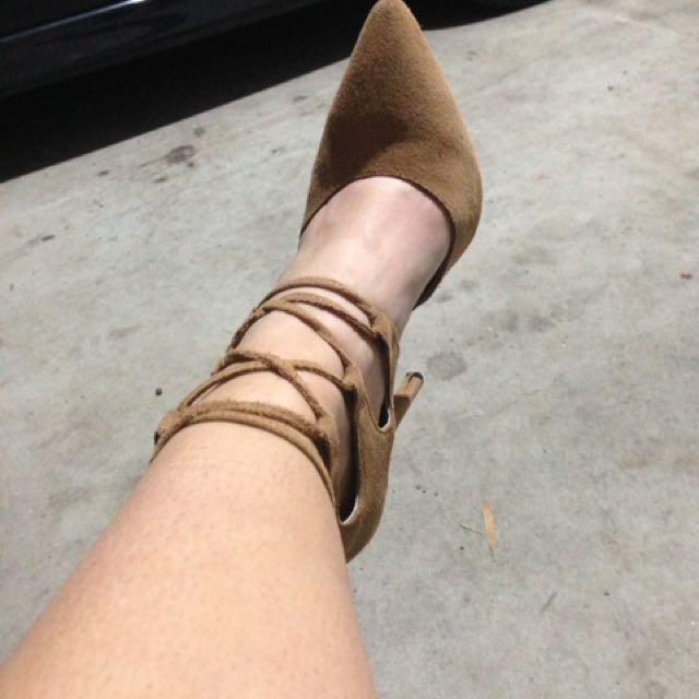 Bardot Tie Up Points