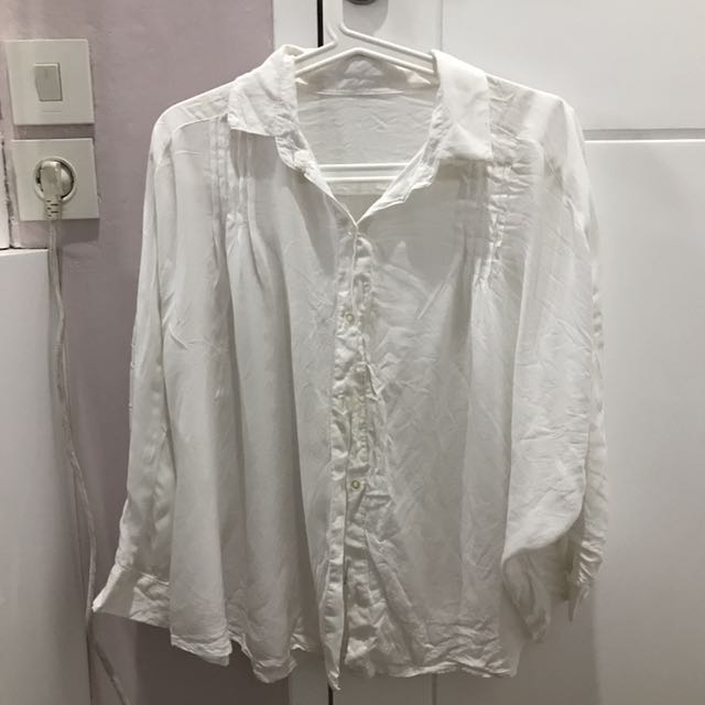 Batwing White Shirt