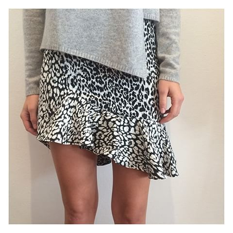 Bec and Bridge Snow Leopard Skirt