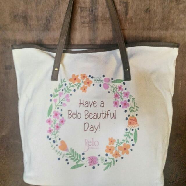 Belo Souvenir Canvass Bag
