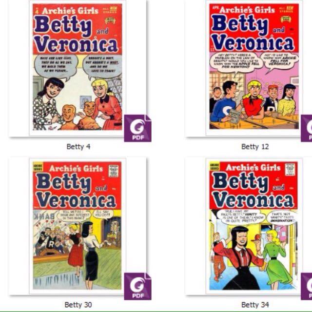 Betty and Veronica Comics Digital Editions