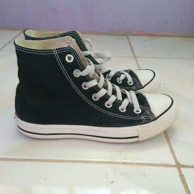 Black Converse High Cut