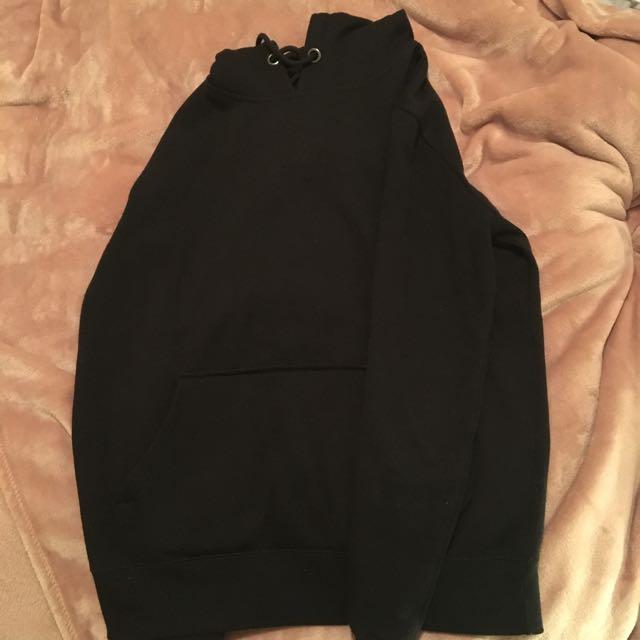 Black Cotton On Hoodie - Men's S