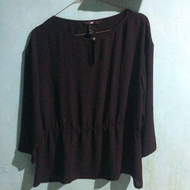 Blouse H&M Black Size 38