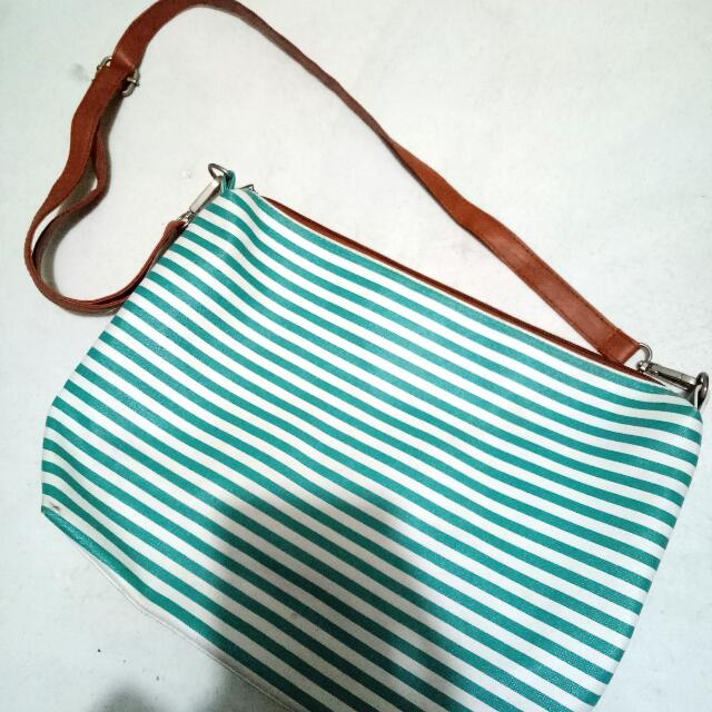 Blue Stripes Bag