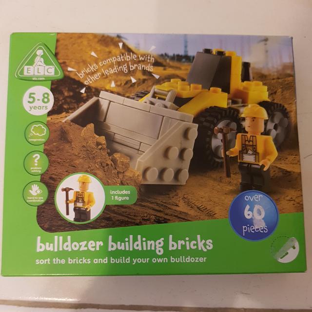 BNIB ELC-Early Learning Centre Bulldozer building bricks/blocks Not ...