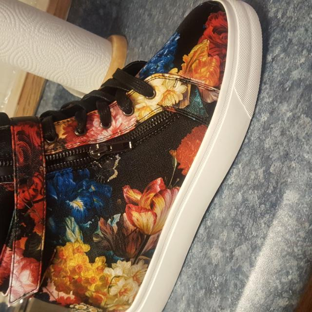 Brand New Floral Sneakers