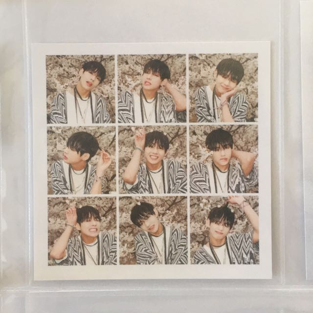 BTS HYYH PT1 Taehyung Official Photocard