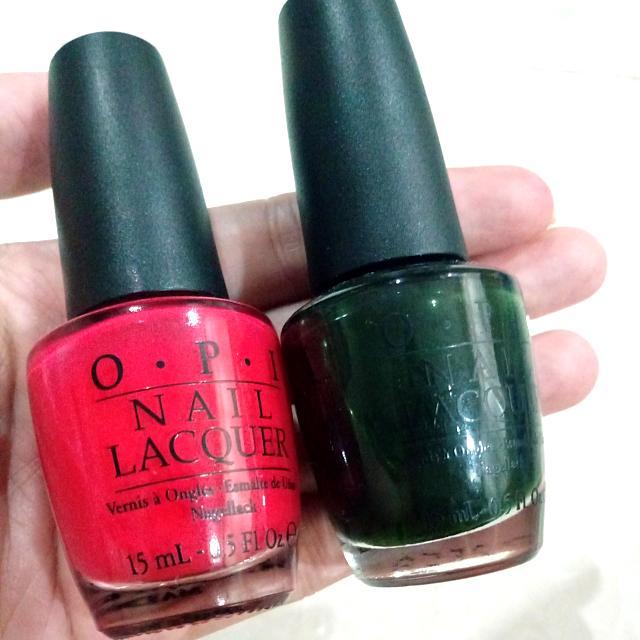 Buy 2 Opi Nail Polish For 180rb FREE 2 Revlon Nail Polish