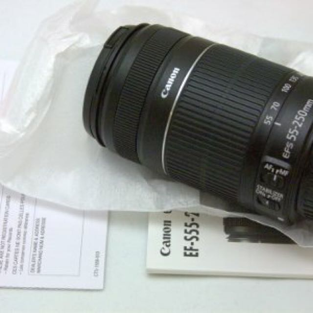 Canon Zoom Lens 55-250mm f/4-5.6 ISII