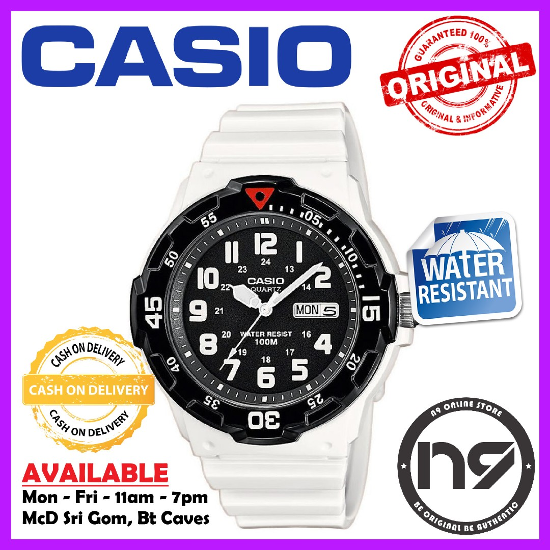 Casio MRW-200HC-7BV Analog Men Watches Casual Rubber Strap Sports ... f915509d47