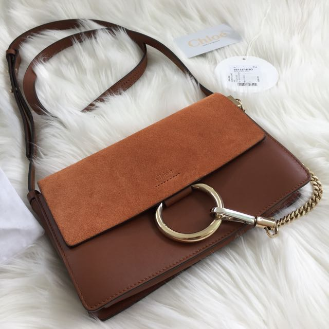 CHLOE SMALL FAYE W/ AUTHENTICITY CARD