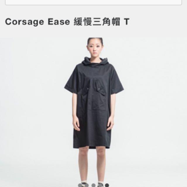 (含運)Corsage Ease 緩慢三角帽 T