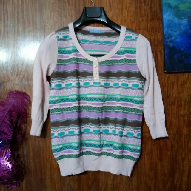 Cotton Candy Knitted Top