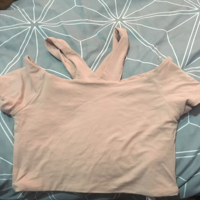 Cotton On Crop Top - Nude