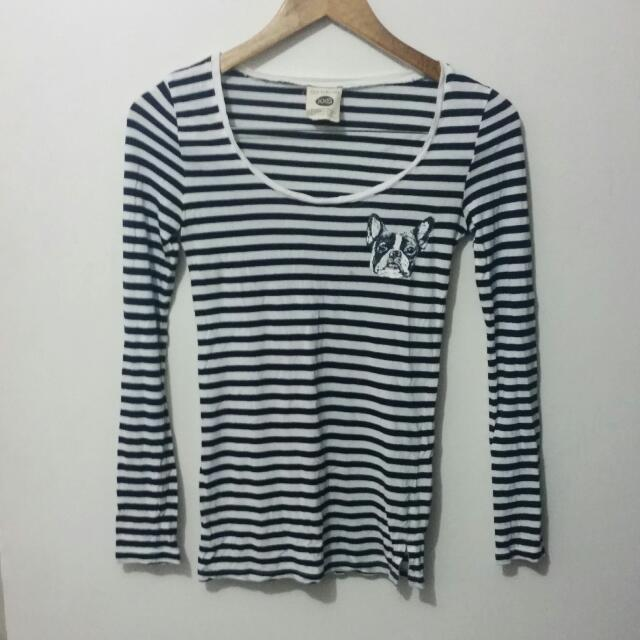Cotton On Striped Longsleeve Top