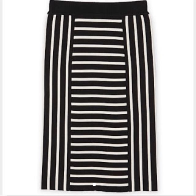 Country Road Milano Stripe Skirt - XS