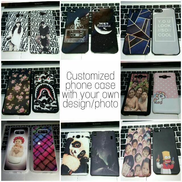 Customized Phone Cases with your own design/photo