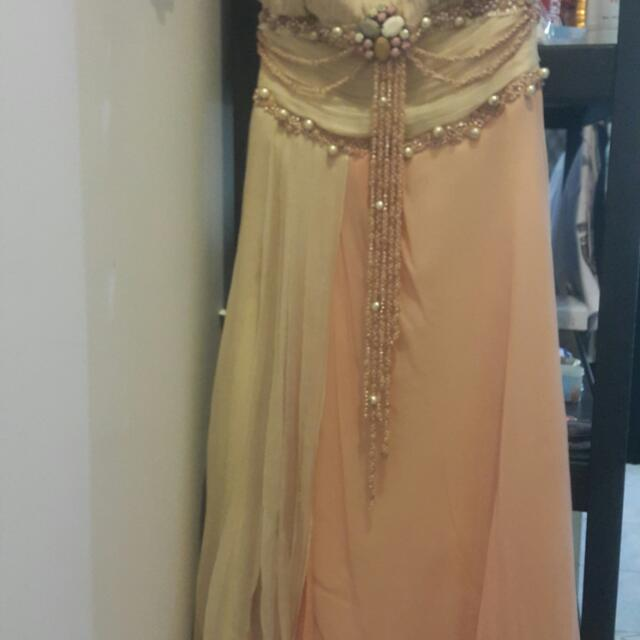 Designer Exclusive Dress Jeanny ANG size S/M