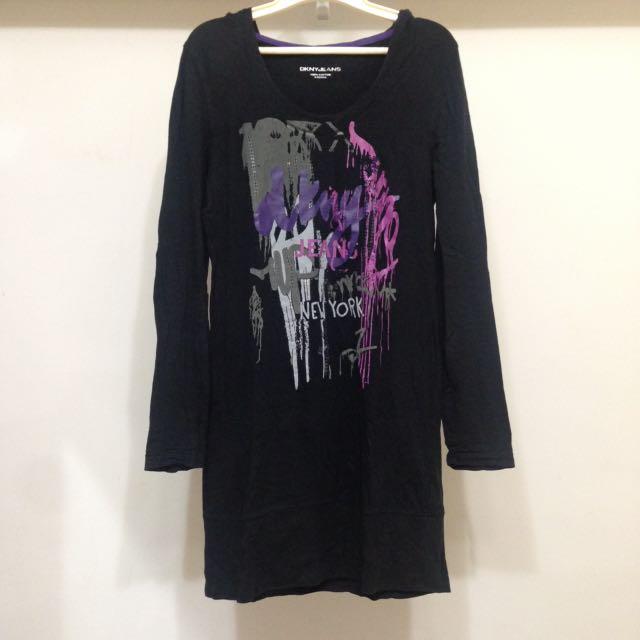 DKNY 連身裙 長版衣 洋裝 #冬季衣櫃出清