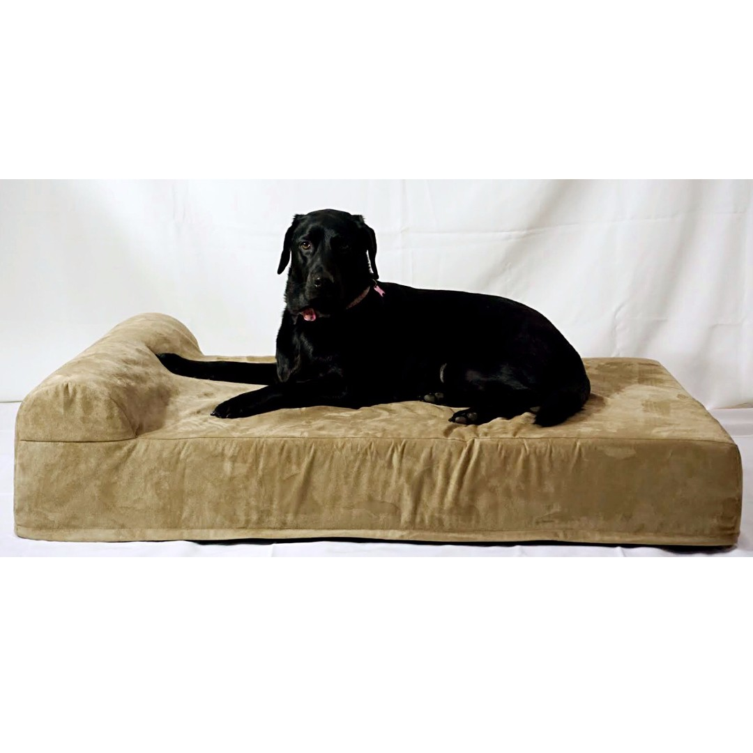 memory theracool with pad display cfm dog foam infused core cooling cell tri product prod charcoal gel bed
