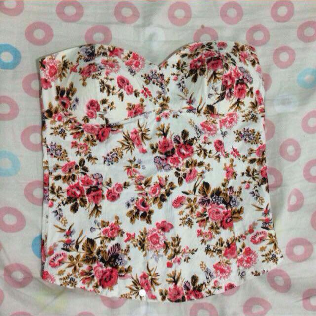 EVERYTHING 100 Floral Corset