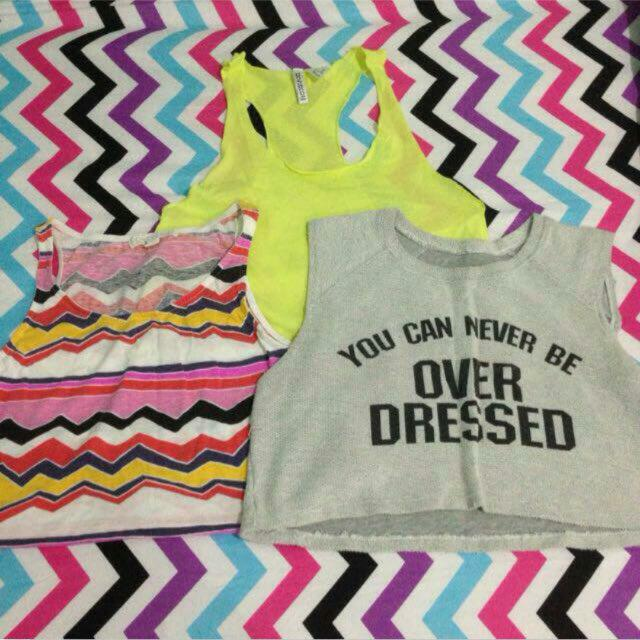 EVERYTHING 100 Forever21, H&M Tank Tops