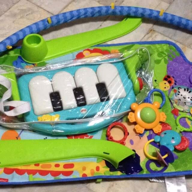 Fisher Price Kick And Piano Gym