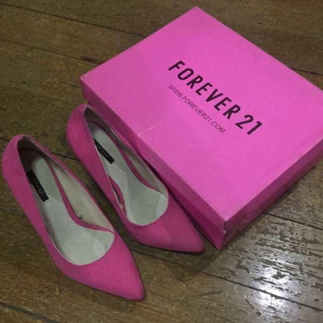 Forever21 Pink Stilettos
