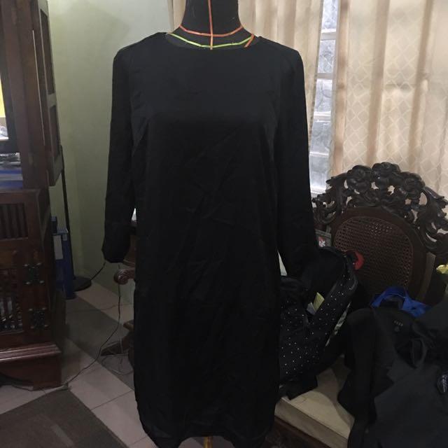 Forever 21 Black Shift Dress